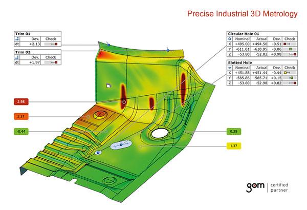 GOM Workshop - 3D Metrology in Sheet Metal Forming Processes